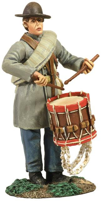 31167 - Confederate Infantry Drummer in Frock Coat No.1