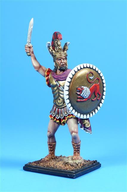 5018 - Leonidas, King of Sparta, Battle of Thermopylae 480 BC