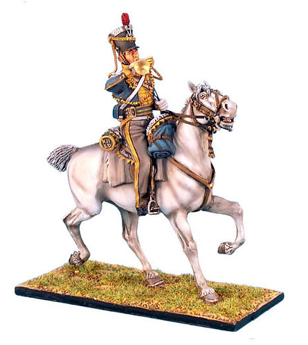 NAP0199 - British 12th Light Dragoons Trumpeter