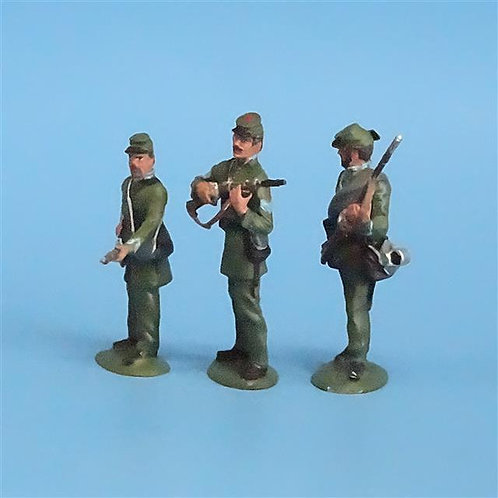CORD-069 - Berdan's Sharpshooters (3 Figs) - Manufacturer Unknown - 54mm Metal -