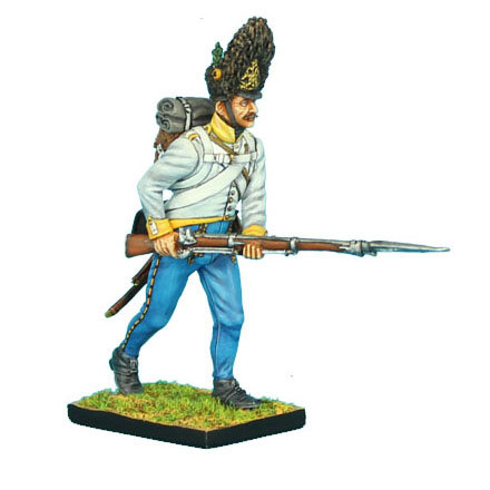 NAP0299 - Austrian Hahn Grenadier Advancing Leveled Musket