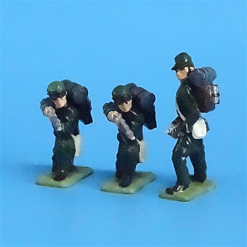 CORD-058 -Berdan's Sharpshooters (3 Figures) - Manufacturer Unknown - 54mm Metal