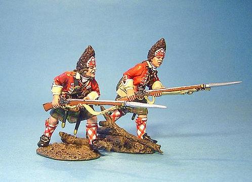 TIC-22 - 42nd Regiment of Foot, 2 Grenadiers Advancing