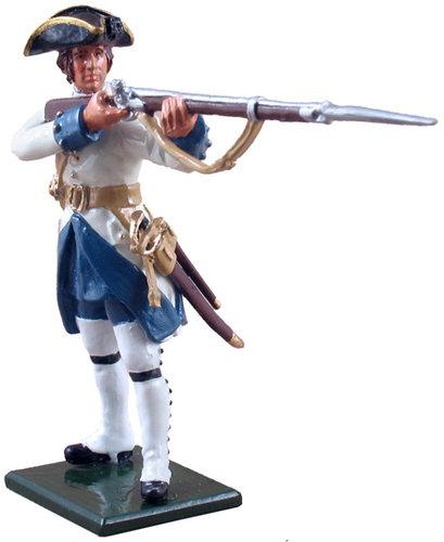 47044 - Compagnies franches de la Marine Standing Firing, 1754-1760
