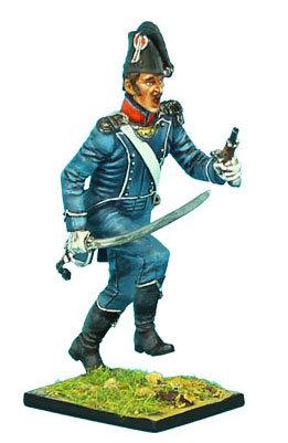 NAP367 - French 1st Light Infantry Chasseur Lieutenant