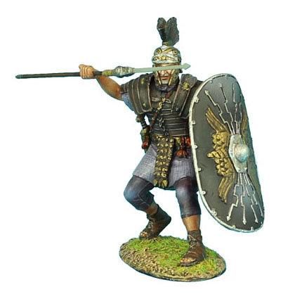 ROM108 - Imperial Roman Praetorian Guard with Pilum #2