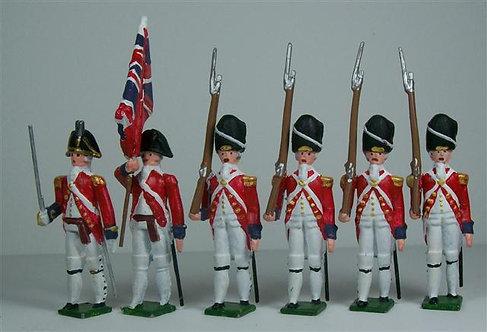 B220 - British 47th Foot Grenadier Guards - 6 pieces