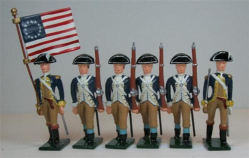 A270 - General Anthony Wayne's Regiment - 6 pieces