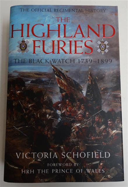BK123 - The Official Regimental History of the Highland Furies