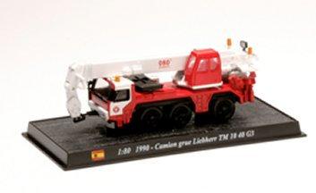 CBO021 - Grue Liebherr TM 10 40 G3, 1990 Spain  Scale: 1:80