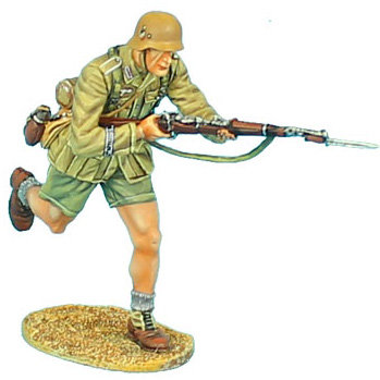 DAK029 - Das Deutsche Afrika Korps Charging with K98