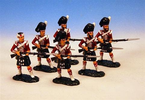 CW2 - Troops, Set Two, 93rd Highlanders