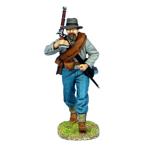 MB010 - Confederate Infantry Advancing