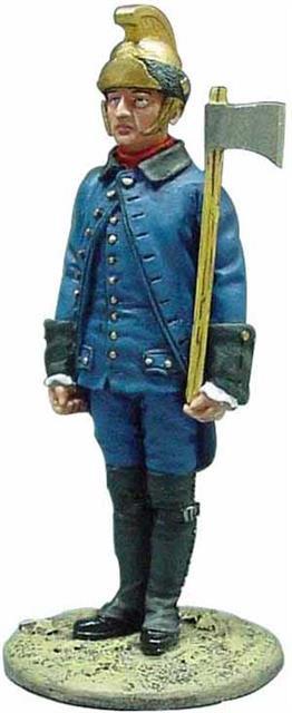BOM029 - Firefighter, Paris 1786