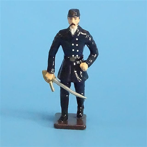 CORD-274 - Union Infantry Officer (1 Figure) - Unknown Manufacturer - 54mm Metal