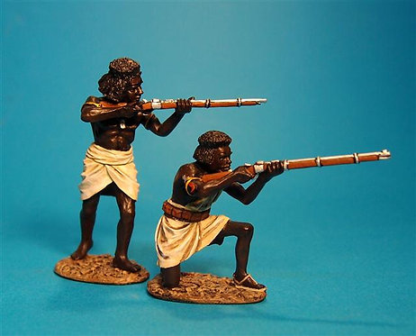 MAD-06 - Beja Warriors with Rifles