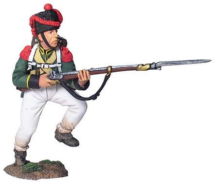 17605 - Nassau 2nd Light Infantry Regiment Carabinier Charging No.1