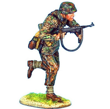 NOR022 - Waffen-SS Panzer Grenadier Running with MP40
