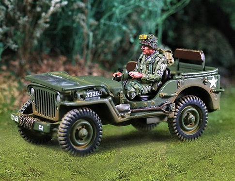 CS00745 - 101st Jeep with Driver