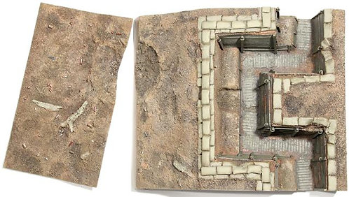 51014 - WWI British Trench Section No.1, Infantry Trench with Sniper Pit