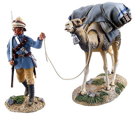 27030 - British Camel Corps Trooper and Pack Camel No.1