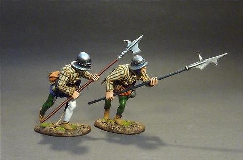 LANC-27 - Lancastrian Billmen  The Battle of Bosworth Field 1485