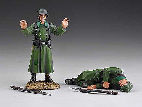 SS013A - Dead and Surrendering Germans