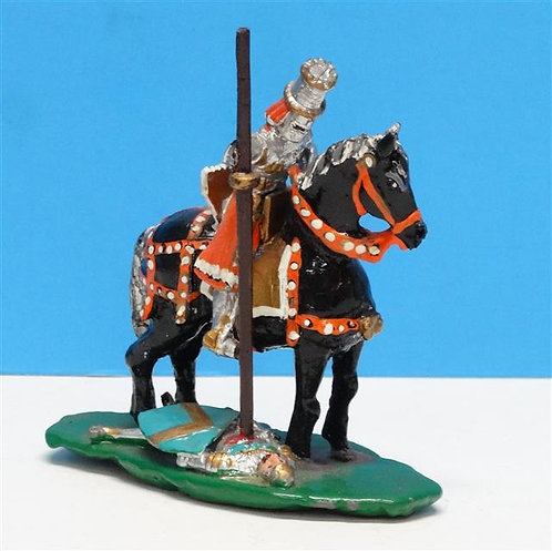 "MI-348 - ""The Joust"" - Manufacturer Unknown - 54mm Metal - No Box"