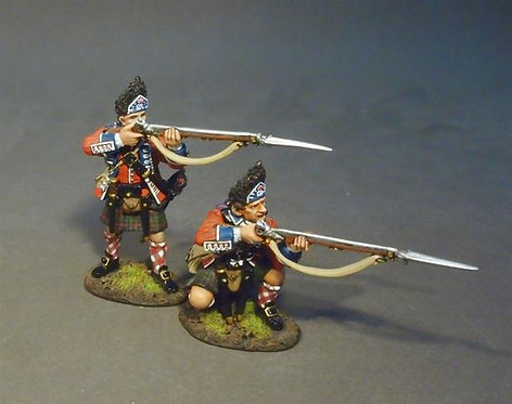 BR42H-02 - 42nd Regiment of Foot, 2 Grenadiers Skirmishing