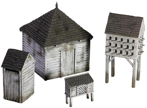 51038 - American Farm Outbuilding Set No.1
