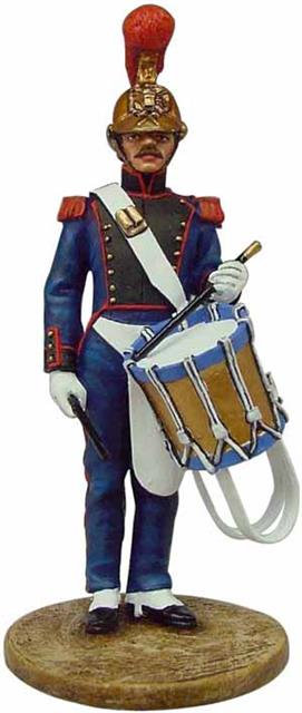 BOM054 - Firefighter, France 1850