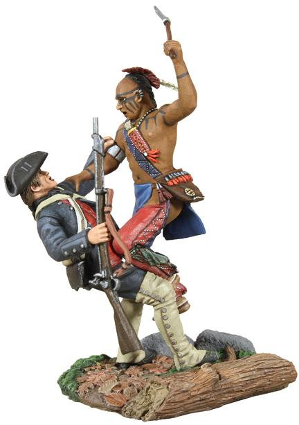 16003 - Eastern Woodland Indian and Colonial Militia Hand-to-Hand Set
