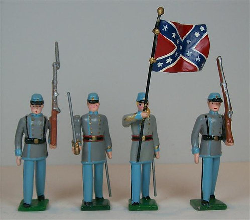 ACW901 - Confederate Color Party - 4 pieces