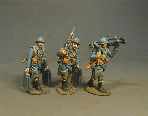 GWF-40 - French St. Etienne Mle 1907 Machine Gun Crew  French Infantry 1917-1918