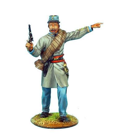 ACW042 - Confederate Lieutenant with Pistol