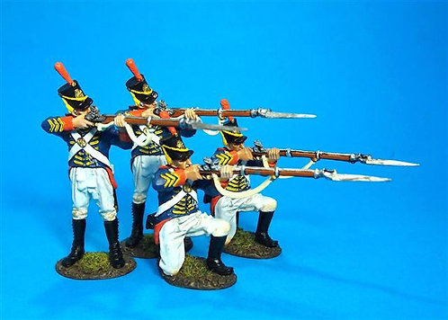 1812M-02N - Marines Firing Set  US Marine Corps, 1814  War of 1812