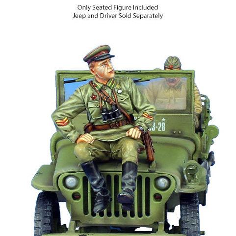RUSSTAL038 - Russian Infantry Major - Jeep Passenger/Tank Rider
