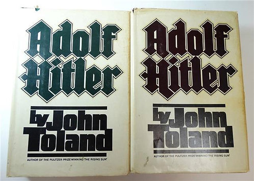 BK005 - Adolf Hitler by John Toland (2 volumes)