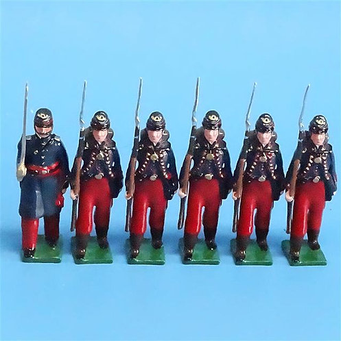 COWF-0144 - 95th Pennsylvania Volunteer Infantry Regiment 1861 (Gosline Zouaves)