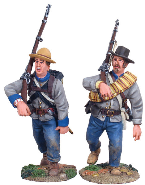 31008 - Confederate Infantry Marching