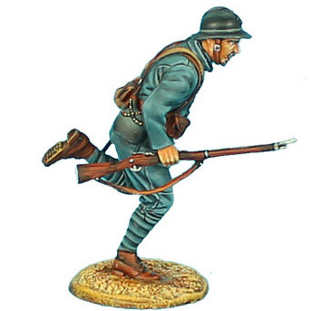 GW019 - French Infantry Charging #2 - 34th Infantry Regt