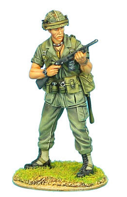 VN006 - US 25th Infantry Division Standing with Ithaca 37 Shotgun