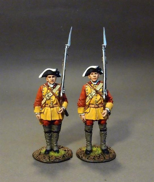 RRBC-03 - Connecticut Provincial Regiment of Foot, Line Infantry at Attention