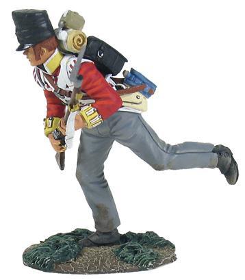 36123 - British 44th Foot Light Company Crouching Running