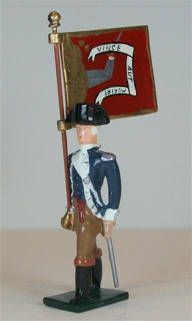 A259FB - The Bedford Militia Flag Bearer - 1 piece