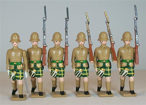 B515 - Cape Town Highlanders, South Africa - 6 pieces