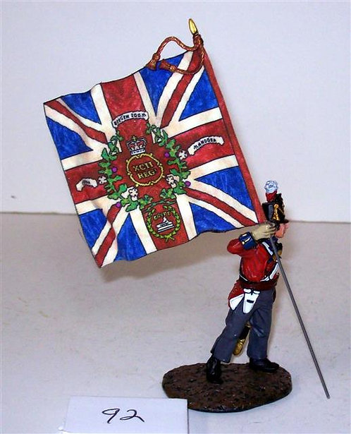 FD-410A - 92nd Highland Regiment (Gordons) King's Colours