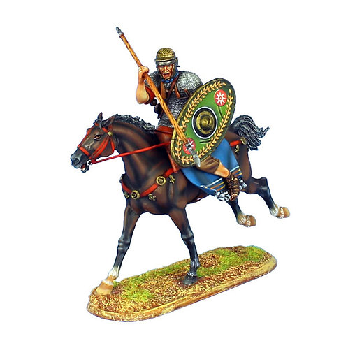 ROM124 - Imperial Roman Auxiliary Cavalry with Spear - Ala II Flavia