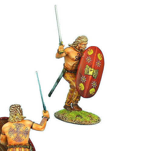 ROM085 - Gallic Warrior Charging with Sword