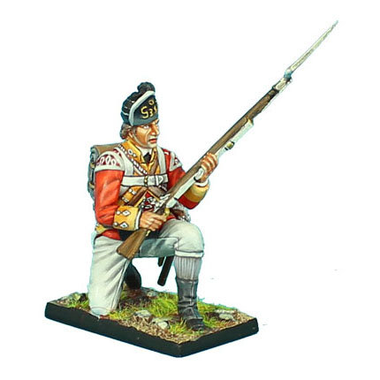 AWI081 - British 38th Regt Light Company Kneeling Ready